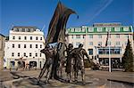 Liberation Monument, St. Helier, Jersey, Channel Islands, United Kingdom, Europe Stock Photo - Premium Rights-Managed, Artist: Robert Harding Images, Code: 841-06446018