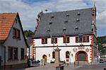 The historic 16th century Town Hall in Burgstadt, Michelstadt am Main, Bavaria, Germany, Europe Stock Photo - Premium Rights-Managed, Artist: Robert Harding Images, Code: 841-06446236
