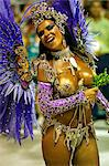 Carnival parade at the Sambodrome, Rio de Janeiro, Brazil, South America Stock Photo - Premium Rights-Managed, Artist: Robert Harding Images, Code: 841-06446303