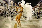 Carnival parade at the Sambodrome, Rio de Janeiro, Brazil, South America Stock Photo - Premium Rights-Managed, Artist: Robert Harding Images, Code: 841-06446305