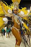 Carnival parade at the Sambodrome, Rio de Janeiro, Brazil, South America Stock Photo - Premium Rights-Managed, Artist: Robert Harding Images, Code: 841-06446324