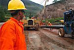 Workers putting pipes for natural gas near Congonhas, Minas Gerais, Brazil, South America Stock Photo - Premium Rights-Managed, Artist: Robert Harding Images, Code: 841-06446483