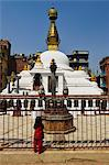Stupa at Patan, UNESCO World Heritage Site, Bagmati, Central Region (Madhyamanchal), Nepal, Asia Stock Photo - Premium Rights-Managed, Artist: Robert Harding Images, Code: 841-06446543