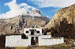 Muktinath Temple, Muktinath, Annapurna Conservation Area, Mustang District, Dhawalagiri (Dhaulagiri), Western Region (Pashchimanchal), Nepal, Himalayas, Asia Stock Photo - Premium Rights-Managed, Artist: Robert Harding Images, Code: 841-06446576