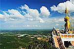 View from top of Tiger Cave Temple (Wat Tham Suea), Krabi Province, Thailand, Southeast Asia, Asia Stock Photo - Premium Rights-Managed, Artist: Robert Harding Images, Code: 841-06446665