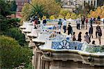 Guell Park (Parc Guell), Unesco World Heritage Site, Barcelona, Catalunya (Catalonia) (Cataluna), Spain, Europe Stock Photo - Premium Rights-Managed, Artist: Robert Harding Images, Code: 841-06446953