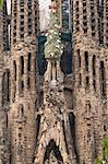 Sagrada Familia Cathedral by Gaudi, UNESCO World Heritage Site, Barcelona, Catalunya (Catalonia) (Cataluna), Spain, Europe Stock Photo - Premium Rights-Managed, Artist: Robert Harding Images, Code: 841-06446959