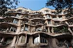 Mila House (or La Pedrera) by Antoni Gaudi, UNESCO World Heritage Site, Barcelona, Catalunya (Catalonia) (Cataluna), Spain, Europe Stock Photo - Premium Rights-Managed, Artist: Robert Harding Images, Code: 841-06446962
