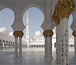 Sheikh Zayed Mosque, Abu Dhabi, United Arab Emirates, Middle East Stock Photo - Premium Rights-Managed, Artist: Robert Harding Images, Code: 841-06446980