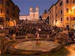 Spanish Steps and Trinita dei Monti church, Rome, Lazio, Italy, Europe Stock Photo - Premium Rights-Managed, Artist: Robert Harding Images, Code: 841-06447028