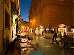 People dining at outside restaurant, Rome, Lazio, Italy, Europe Stock Photo - Premium Rights-Managed, Artist: Robert Harding Images, Code: 841-06447034