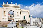 Santa Maria Magdalena Cemetery, Old City of San Juan, Puerto Rico Island, West Indies, Caribbean, United States of America, Central America Stock Photo - Premium Rights-Managed, Artist: Robert Harding Images, Code: 841-06447094