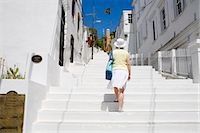 Steps to historic Kongens Quarter in Charlotte Amalie, St. Thomas Island, U.S. Virgin Islands, West Indies, Caribbean, Central America Stock Photo - Premium Rights-Managednull, Code: 841-06447106