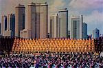 Pyongyang Indoor Stadium performance, Pyongyang, Democratic People's Republic of Korea (DPRK), North Korea, Asia Stock Photo - Premium Rights-Managed, Artist: Robert Harding Images, Code: 841-06447280