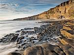 Nash Point on the Glamorgan Heritage Coast, South Wales, Wales, United Kingdom, Europe Stock Photo - Premium Rights-Managed, Artist: Robert Harding Images, Code: 841-06447607