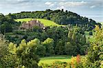 Dunster Castle and Conygar Tower in Exmoor National Park, Somerset, England, United Kingdom, Europe Stock Photo - Premium Rights-Managed, Artist: Robert Harding Images, Code: 841-06447613