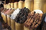 Spice shop, Marrakech, Morocco, North Africa, Africa Stock Photo - Premium Rights-Managed, Artist: Robert Harding Images, Code: 841-06447848