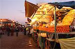 Orange juice seller, Djemaa el Fna, Marrakech, Morocco, North Africa, Africa Stock Photo - Premium Rights-Managed, Artist: Robert Harding Images, Code: 841-06447853