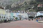 Seaside Promenade, Llandudno, Conwy County, North Wales, Wales, United Kingdom, Europe Stock Photo - Premium Rights-Managed, Artist: Robert Harding Images, Code: 841-06447940