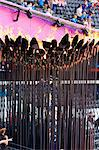 The Olympic Torch Cauldron in the Olympic Stadium for 2012 Olympic Games, London, England, United Kingdom, Europe Stock Photo - Premium Rights-Managed, Artist: Robert Harding Images, Code: 841-06447997