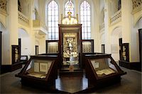 exhibition - The Maisel Synagogue is currently used by the Jewish Museum as an exhibition venue and depository, Prague, Czech Republic, Europe Stock Photo - Premium Rights-Managednull, Code: 841-06448023