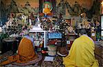 Buddhist ceremony, Tu An Buddhist temple, Saint-Pierre-en-Faucigny, Haute Savoie, France, Europe Stock Photo - Premium Rights-Managed, Artist: Robert Harding Images, Code: 841-06448099