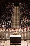 Easter week celebration (Chrism mass) in Notre Dame Cathedral, Paris, France, Europe Stock Photo - Premium Rights-Managed, Artist: Robert Harding Images, Code: 841-06448150