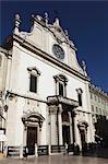 Facade of the Baroque style Leitaria Sao Domingos church in the Baixa district, Lisbon, Portugal, Europe Stock Photo - Premium Rights-Managed, Artist: Robert Harding Images, Code: 841-06448417