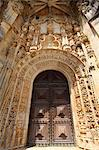 Manueline Main doorway, by Joao de Castilho, Convent of Christ, UNESCO World Heritage Site, Tomar, Ribatejo, Portugal, Europe Stock Photo - Premium Rights-Managed, Artist: Robert Harding Images, Code: 841-06448420