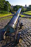 Portuguese cannon, 15th century, Calton Hill in summer sunshine, Edinburgh, Scotland, United Kingdom, Europe Stock Photo - Premium Rights-Managed, Artist: Robert Harding Images, Code: 841-06448525