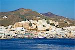 Hora (Chora) main town and Kastro, Naxos, Cyclades, Aegean, Greek Islands, Greece, Europe Stock Photo - Premium Rights-Managed, Artist: Robert Harding Images, Code: 841-06448611