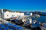 Port, Naoussa, Paros, Cyclades, Aegean, Greek Islands, Greece, Europe Stock Photo - Premium Rights-Managed, Artist: Robert Harding Images, Code: 841-06448623