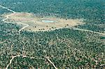 Aerial view of airstrip, road and small waterhole, Etosha National Park, Namibia, Africa Stock Photo - Premium Rights-Managed, Artist: Robert Harding Images, Code: 841-06448671