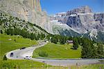 Road, Sella Pass, Trento and Bolzano Provinces, Italian Dolomites, Italy, Europe Stock Photo - Premium Rights-Managed, Artist: Robert Harding Images, Code: 841-06448851