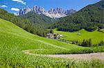 Val di Funes, Bolzano Province, Trentino-Alto Adige/South Tyrol, Italian Dolomites, Italy, Europe Stock Photo - Premium Rights-Managed, Artist: Robert Harding Images, Code: 841-06448893