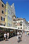 Market stall, Piazza Erbe Market, Bolzano, Bolzano Province, Trentino-Alto Adige, Italy, Europe Stock Photo - Premium Rights-Managed, Artist: Robert Harding Images, Code: 841-06449022