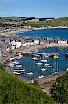 Stonehaven Harbour and Bay from Harbour View, Stonehaven, Aberdeenshire, Scotland, United Kingdom, Europe Stock Photo - Premium Rights-Managed, Artist: Robert Harding Images, Code: 841-06449130