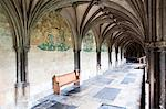 Norwich Cathedral Cloisters, Norwich, Norfolk, England, United Kingdom, Europe Stock Photo - Premium Rights-Managed, Artist: Robert Harding Images, Code: 841-06449187