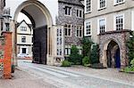 Erpingham Gateway and Norwich School, Norwich, Norfolk, England, United Kingdom, Europe Stock Photo - Premium Rights-Managed, Artist: Robert Harding Images, Code: 841-06449190