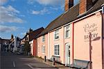 Bakery in a Suffolk Pink building on Pump Street, Orford, Suffolk, England, United Kingdom, Europe Stock Photo - Premium Rights-Managed, Artist: Robert Harding Images, Code: 841-06449253