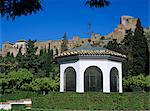Alcazaba viewed from gardens, Malaga, Andalucia, Spain, Europe Stock Photo - Premium Rights-Managed, Artist: Robert Harding Images, Code: 841-06449331