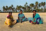 Local women on beach, Benaulim, Goa, India, Asia Stock Photo - Premium Rights-Managed, Artist: Robert Harding Images, Code: 841-06449370