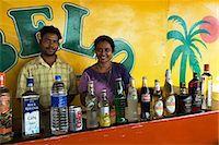 Beach Bar, Benaulim, Goa, India, Asia Stock Photo - Premium Rights-Managednull, Code: 841-06449385