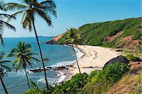 Paliem (Lakeside Beach), Arambol (Harmal), Goa, India, Asia Stock Photo - Premium Rights-Managednull, Code: 841-06449393