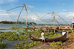 Chinese fishing nets, Kochi (Cochin), Kerala, India, Asia Stock Photo - Premium Rights-Managed, Artist: Robert Harding Images, Code: 841-06449412