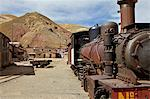 The old mining ghost town of Pulacayo, Industrial Heritage Site, famously linked to Butch Cassidy and the Sundance Kid, Bolivia, South America Stock Photo - Premium Rights-Managed, Artist: Robert Harding Images, Code: 841-06449703