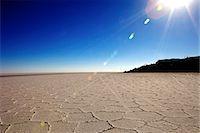 Isla de los Pescadores and salt flats, Salar de Uyuni, Southwest Highlands, Bolivia, South America Stock Photo - Premium Rights-Managednull, Code: 841-06449730