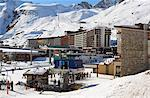 Chair lift, Tignes, Savoie, Rhone-Alpes, French Alps, France, Europe Stock Photo - Premium Rights-Managed, Artist: Robert Harding Images, Code: 841-06449889