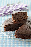 sweet   no people - Close-up of Slice cut from Chocolate Cake Stock Photo - Premium Royalty-Freenull, Code: 600-06451942