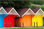 Colourful Beach Huts on South Bay, Scarborough, North Yorkshire, Scarborough, England Stock Photo - Premium Rights-Managed, Artist: Jason Friend, Code: 700-06452042
